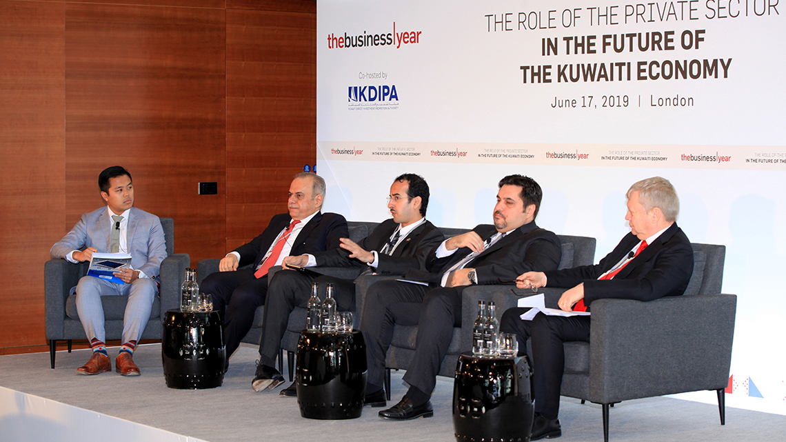 One panel focused on the diversification of the Kuwaiti economy